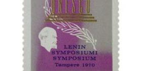 Lenin-symposiumi  postimerkki 0