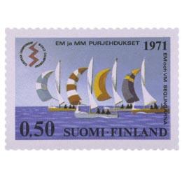 Lightning-veneiden EM- ja MM-kilpailut  postimerkki 0