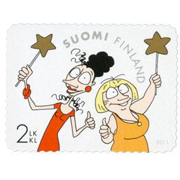 Loistavat naiset - Maisa ja Kaarina  postimerkki 2 luokka