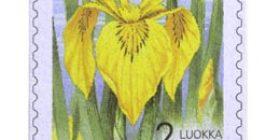 Maakuntakukat - Kurjenmiekka  postimerkki 2 luokka