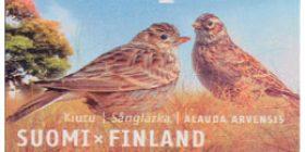 Maakuntalinnut: Kiuru  postimerkki 1 luokka