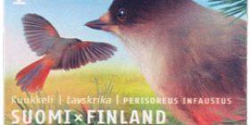 Maakuntalinnut: Kuukkeli  postimerkki 1 luokka