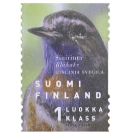 Maakuntalinnut - Sinirinta  postimerkki 1 luokka