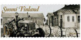 Maalaisromantiikkaa - Maatila  postimerkki 1 luokka