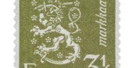 Malli 1930 Leijona oliivi postimerkki 3