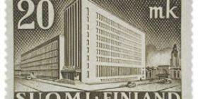 Malli 1930 Postitalo ruskea postimerkki 20 markka