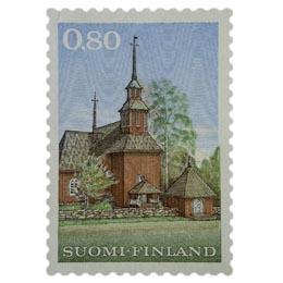 Malli 1963 Keuruun vanha kirkko  postimerkki 0