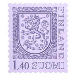 Malli 1975 Vaakuna violetti postimerkki 1