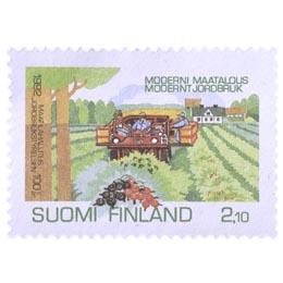 Moderni maatalous -  Maatilahallitus 100 vuotta  postimerkki 2