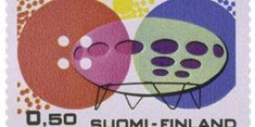 Muoviteollisuus  postimerkki 0
