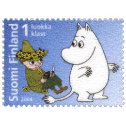 Muumi  postimerkki 1 luokka