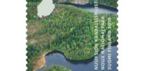 Nuuksion kansallispuisto  postimerkki 1 luokka
