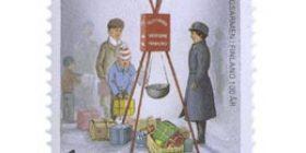 Pelastusarmeija Suomessa 100 vuotta  postimerkki 1