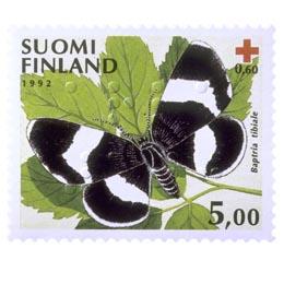 Perhosia - Nunnamittari  postimerkki 5 markka