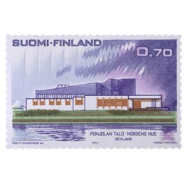 Pohjoismainen Postikongressi  postimerkki 0