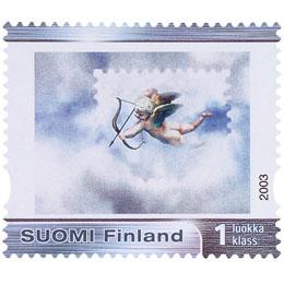 Posti - Amor  postimerkki 1 luokka