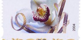 Posti - Orkidea  postimerkki 1 luokka