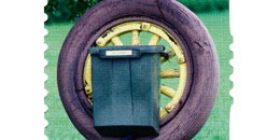 Postilaatikoita  postimerkki 2 luokka