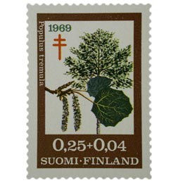 Puulajeja - Haapa  postimerkki 0