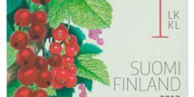Puutarhamarjoja - Punaherukka  postimerkki 1 luokka