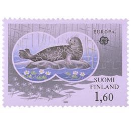 Saimaannorppa  postimerkki 1