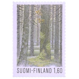 Seitsemisen kansallispuisto  postimerkki 1