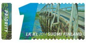 Sillat ja vesi - Punkalaidun  postimerkki 1 luokka