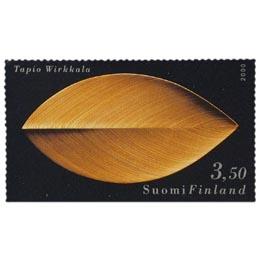 Suomalainen muotoilu - Lehti-puuveistos  postimerkki 3
