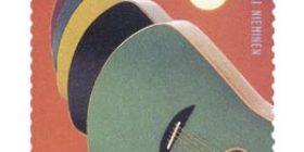 Suomalainen muotoilu - Zoel-kitara  postimerkki 3