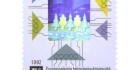 Suomalainen teknologia - Eureka  postimerkki 2
