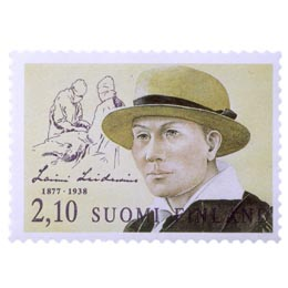 Suomalaisia naisvaikuttajia - Laimi Leidenius  postimerkki 2