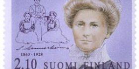 Suomalaisia naisvaikuttajia - Sofie Mannerheim  postimerkki 2