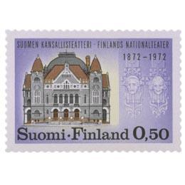 Suomen Kansallisteatteri 100 vuotta  postimerkki 0