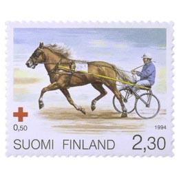 Suomenhevonen - Ravihevonen  postimerkki 2
