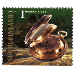 Suomenlahti - Kultakello  postimerkki 1 luokka