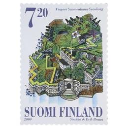 Suomenlinna  postimerkki 7
