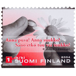 Suudelma - Anna pusu! Anna ...  postimerkki 1 luokka