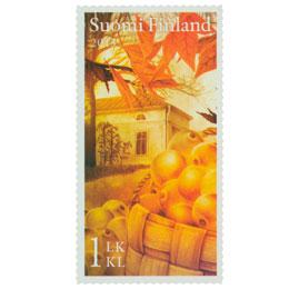 Syksyn merkit - Omenasato  postimerkki 1 luokka