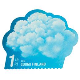 Taivaan merkit - Cumuluspilvi  postimerkki 1 luokka