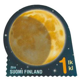 Taivaan merkit - Kuu  postimerkki 1 luokka