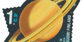 Taivaan merkit - Saturnus  postimerkki 1 luokka