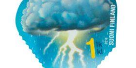 Taivaan merkit - Ukkospilvi  postimerkki 1 luokka