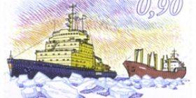 Talvimerenkulku  postimerkki 0