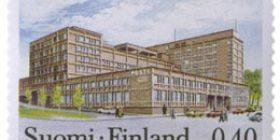 Tampereen Postitalo  postimerkki 0