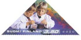 Tiede - Tiedekasvatus  postimerkki 3