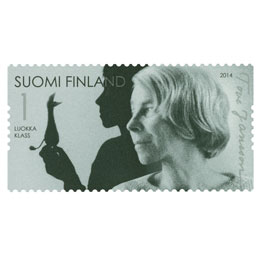 Tove Jansson 100 vuotta - Tove ja Nipsu  postimerkki 1 luokka