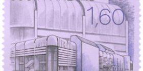 Uutta suomalaista arkkitehtuuria - Bagdadin kongressipalatsi  postimerkki 1