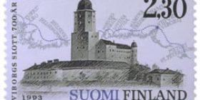 Viipurin linna 700 vuotta  postimerkki 2