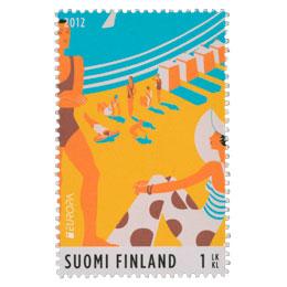Visit Finland - Hanko  postimerkki 1 luokka