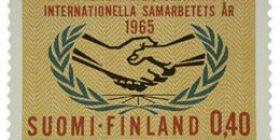 YK 20 vuotta  postimerkki 0